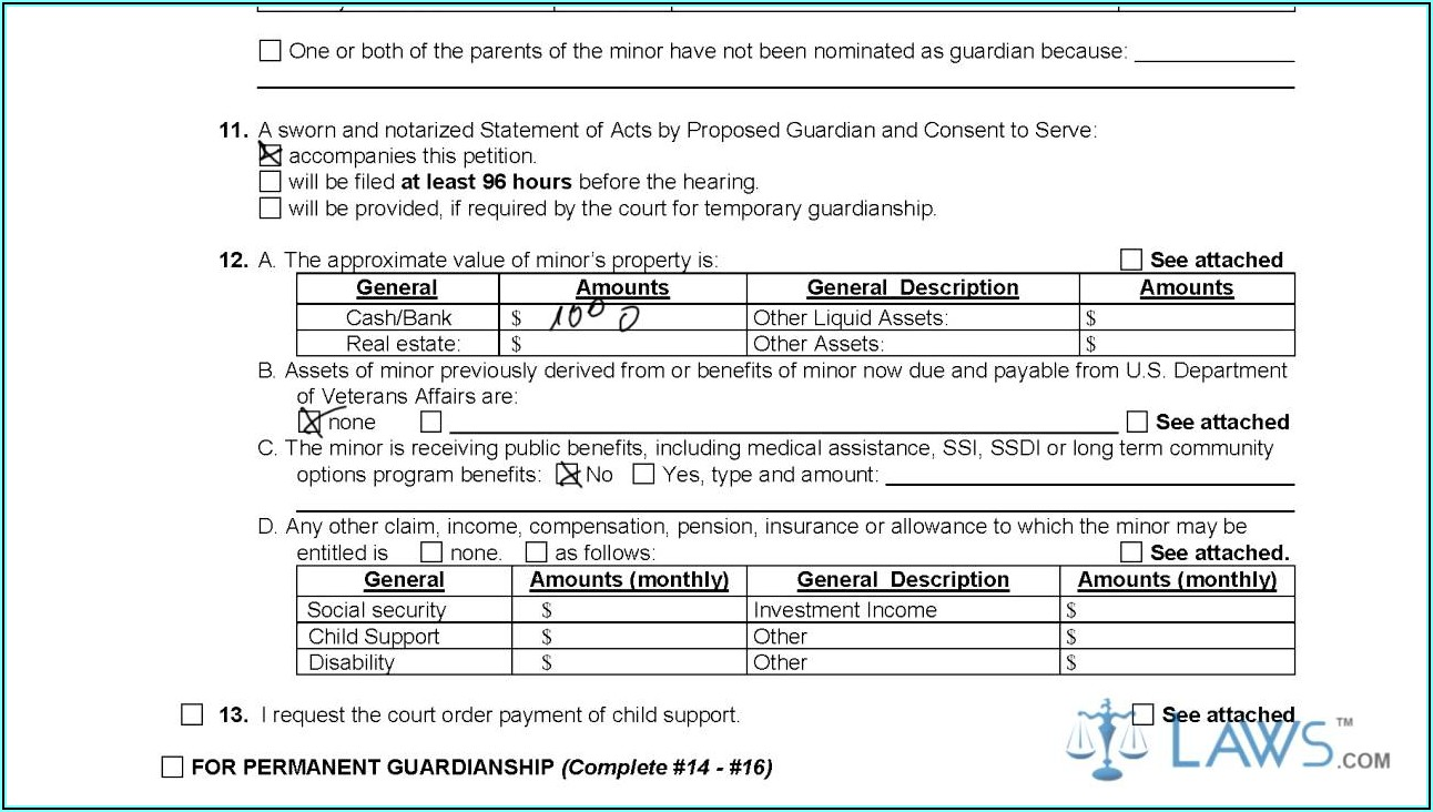 Petition To Terminate Guardianship Form Texas