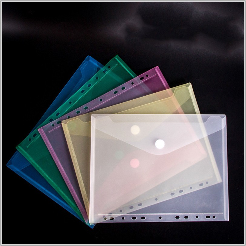 Poly Envelope Pockets For Binders