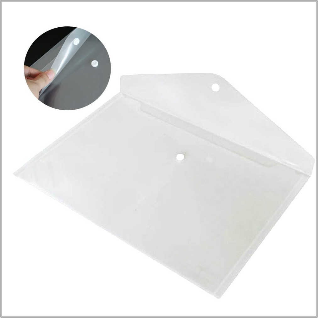 Poly Plastic Envelope With Snap Closure