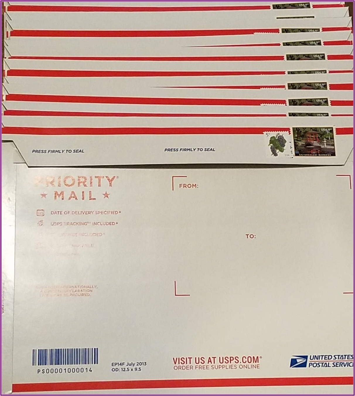 Prepaid Return Envelope Usps