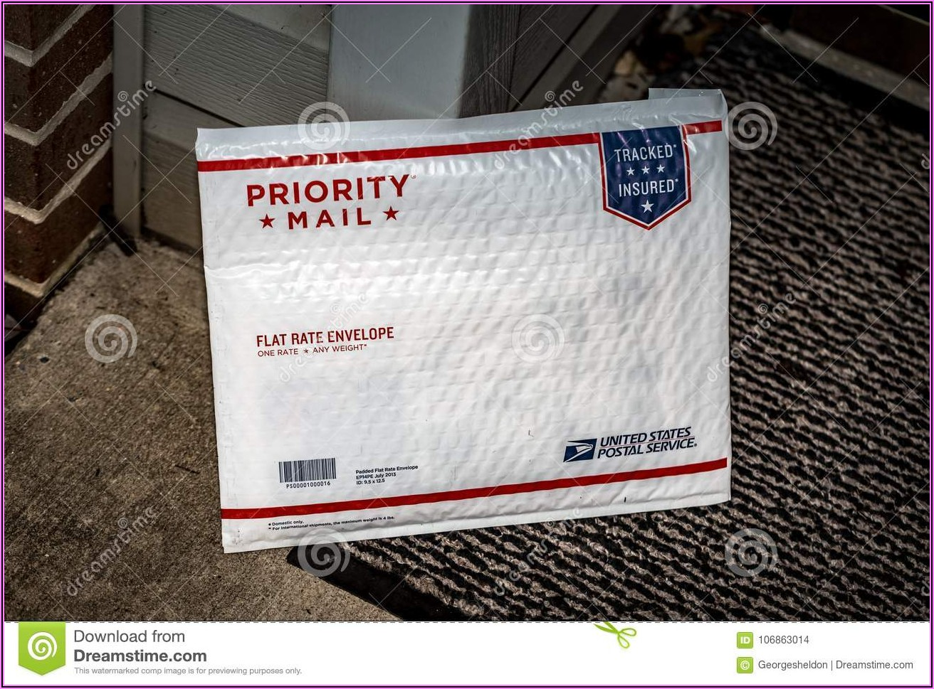 Priority Mail Padded Flat Rate Envelope Insurance