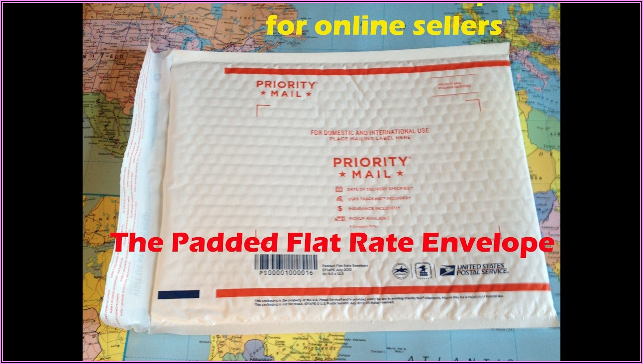 Priority Mail Padded Flat Rate Envelope Rate