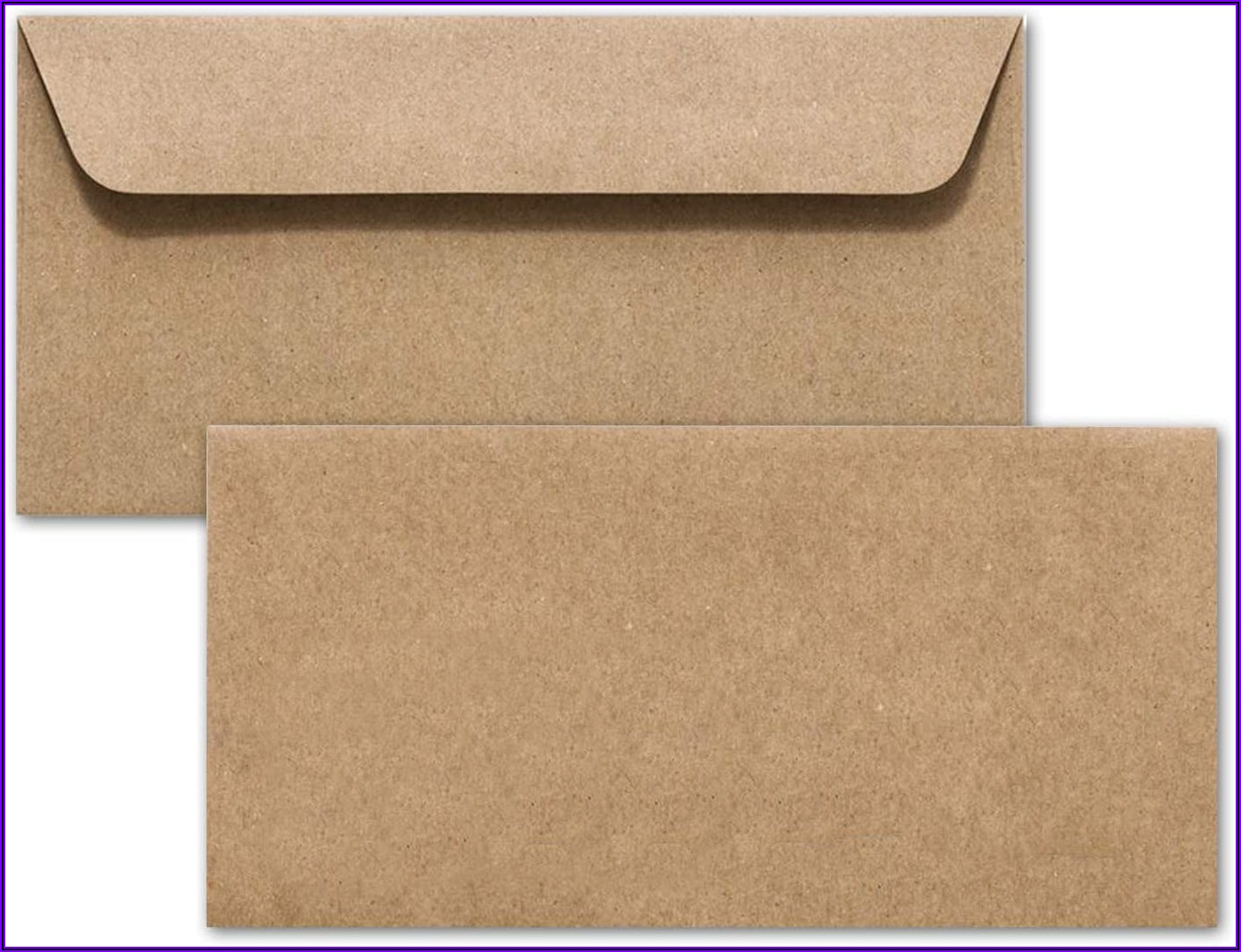 Recycled Brown Paper Envelopes