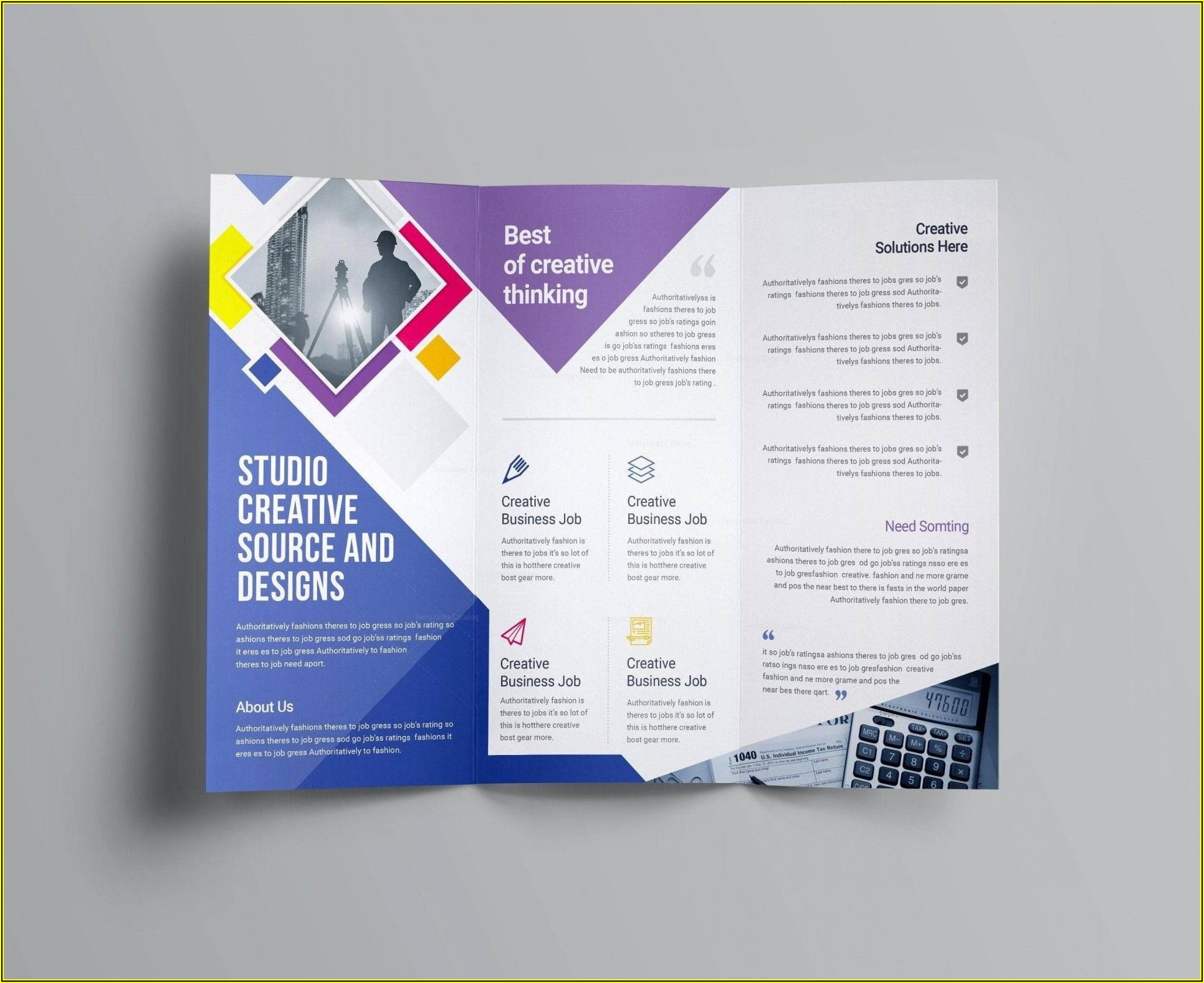 Salon Brochure Templates Free