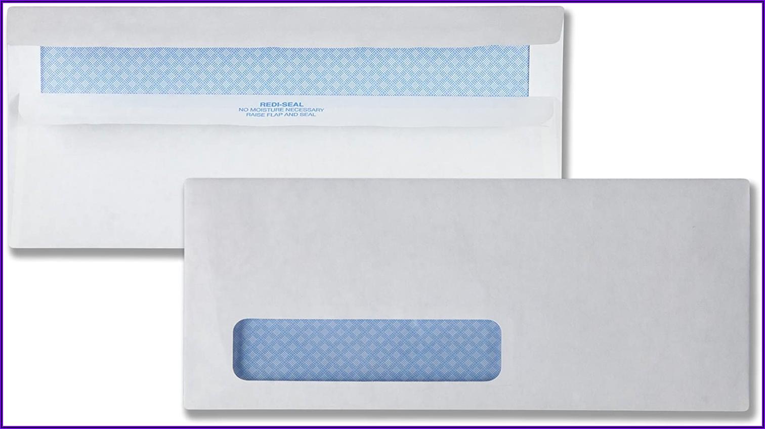 Sam's Club Double Window Envelopes