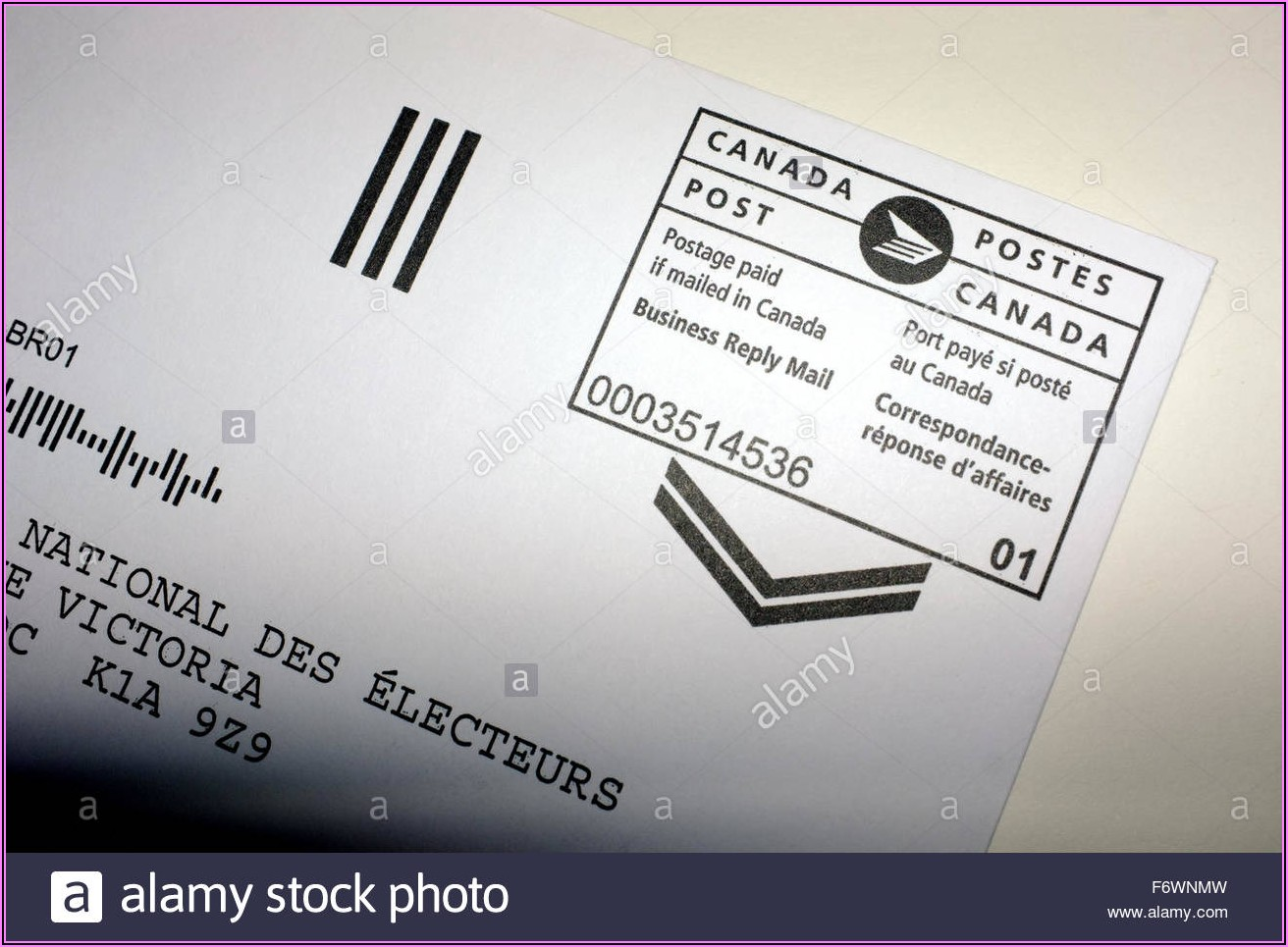 Self Addressed Prepaid Return Envelope Canada Post