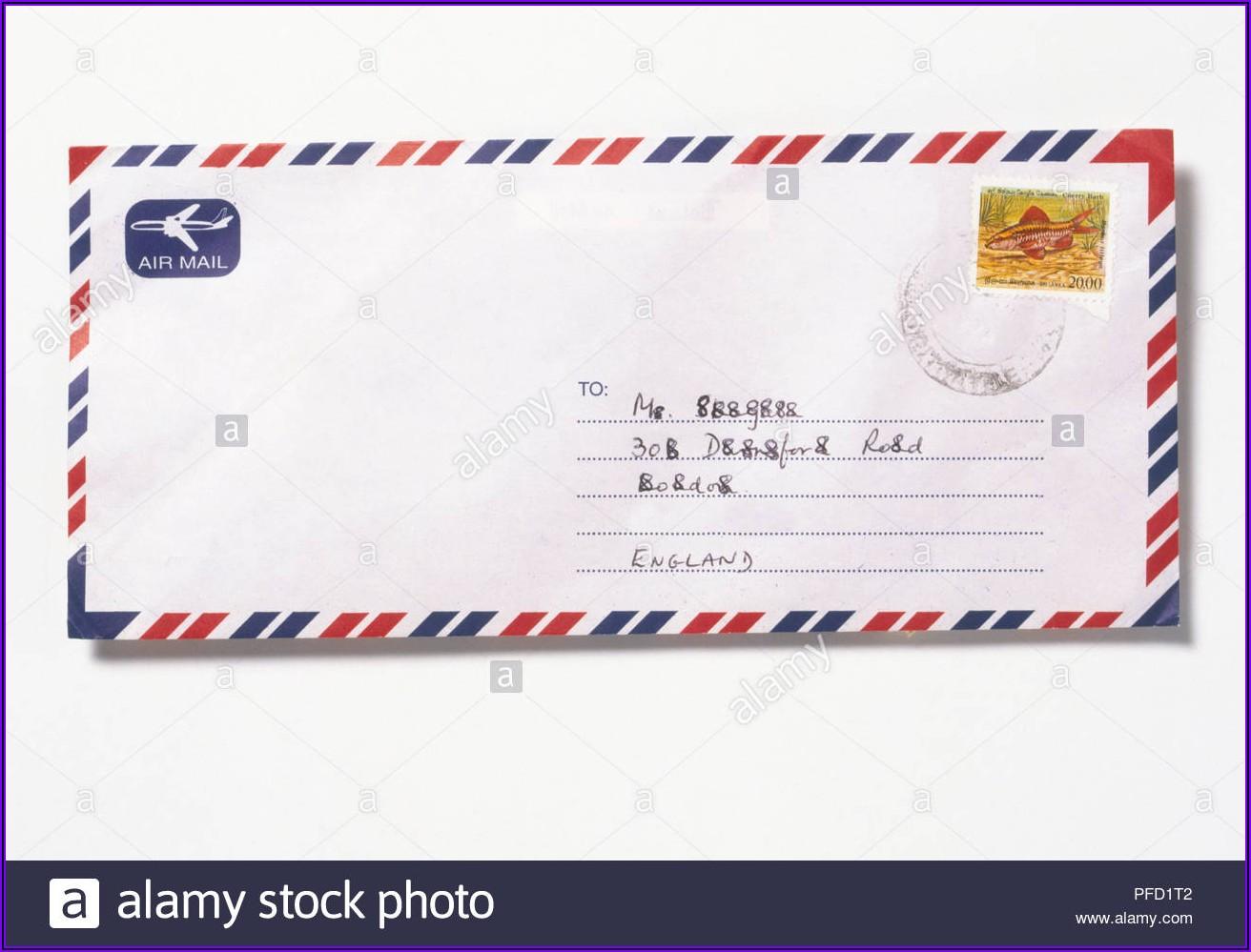 Self Addressed Stamped Envelope Germany