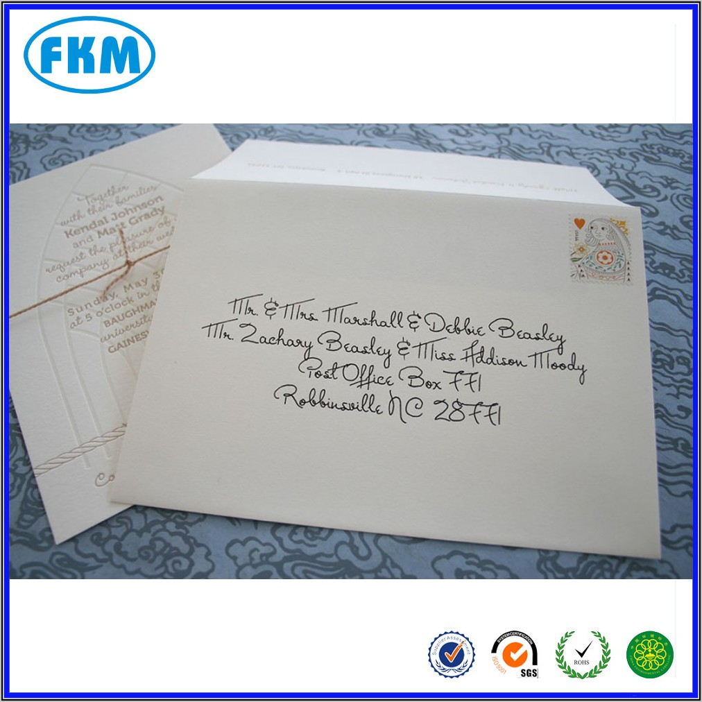 Self Addressed Stamped Envelope Post Office