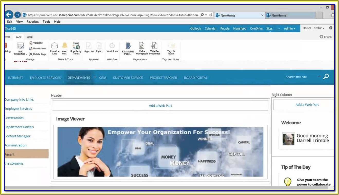Sharepoint Crm Template Office 365