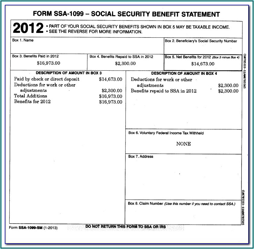 Social Security Work History Form 7050