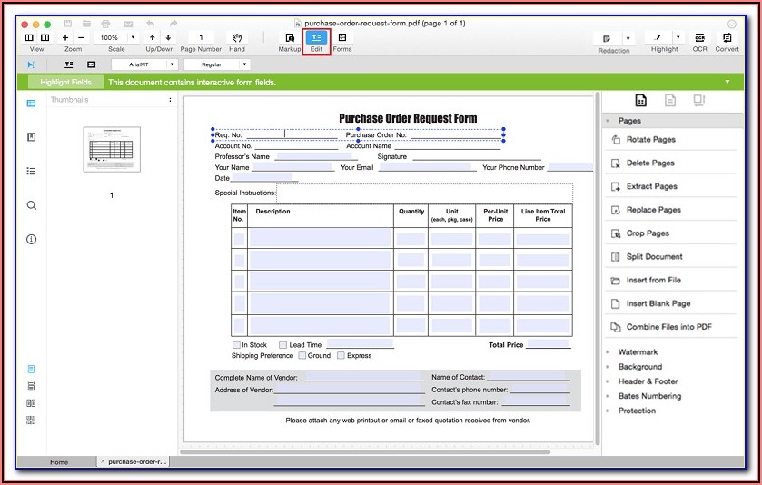 Software To Create Fillable Forms