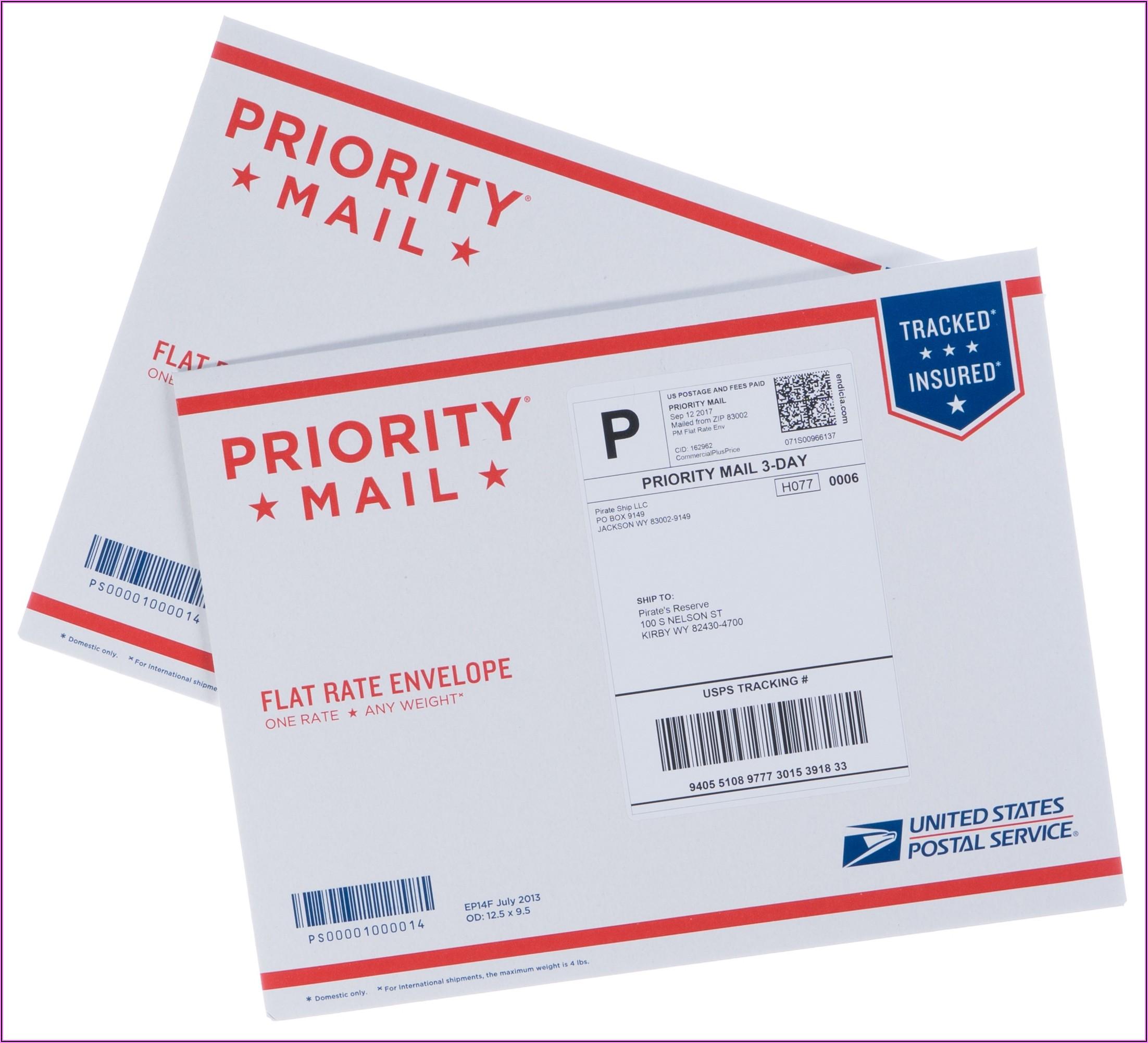 Standard Envelope Sizes Usps