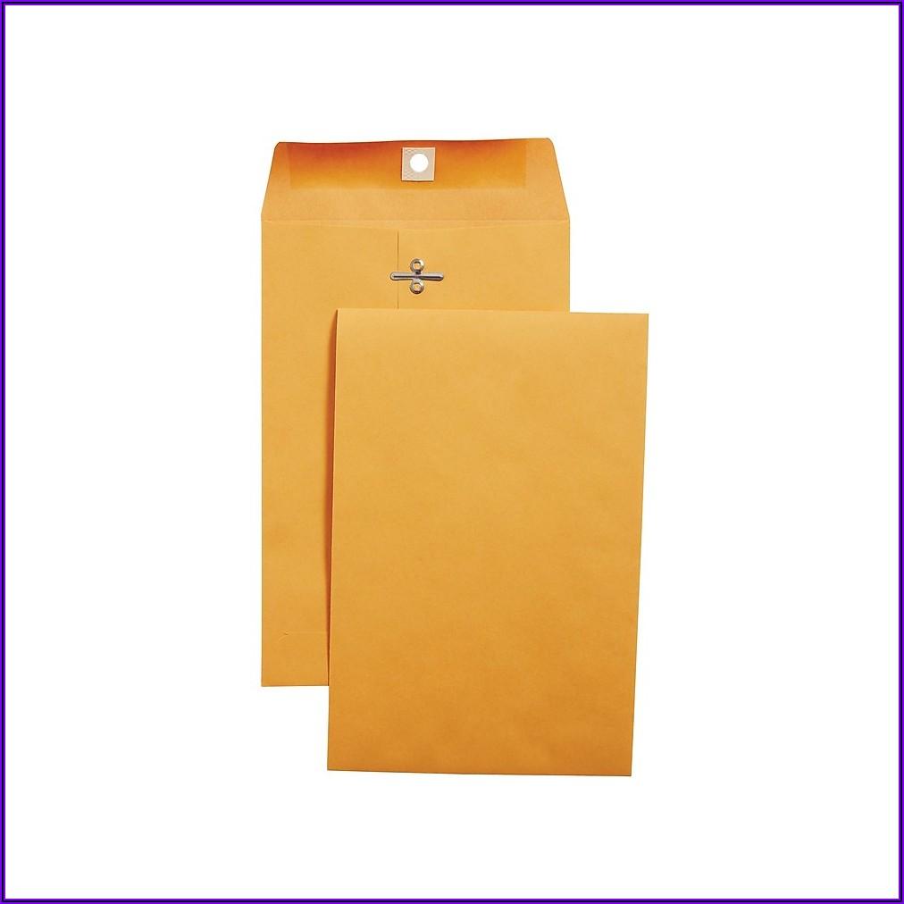 Staples 10 X 13 Manilla Envelopes