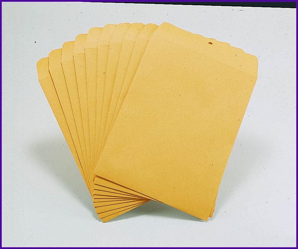 Staples Brown Kraft Clasp 9 X 12 Envelopes 100box