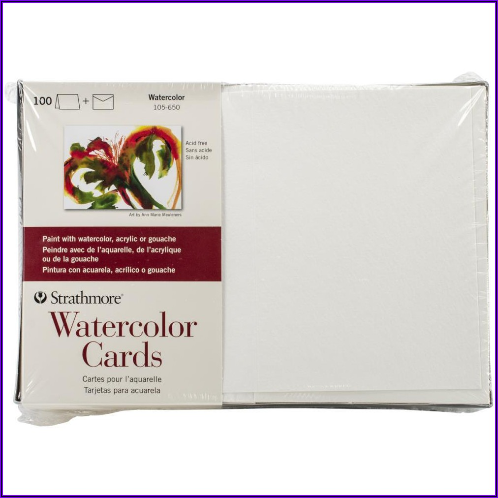 Strathmore Blank Cards And Envelopes 100