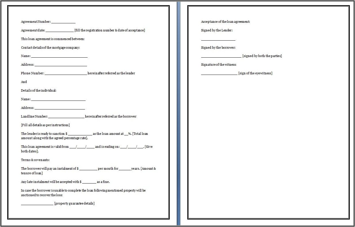 Templates For Promissory Notes