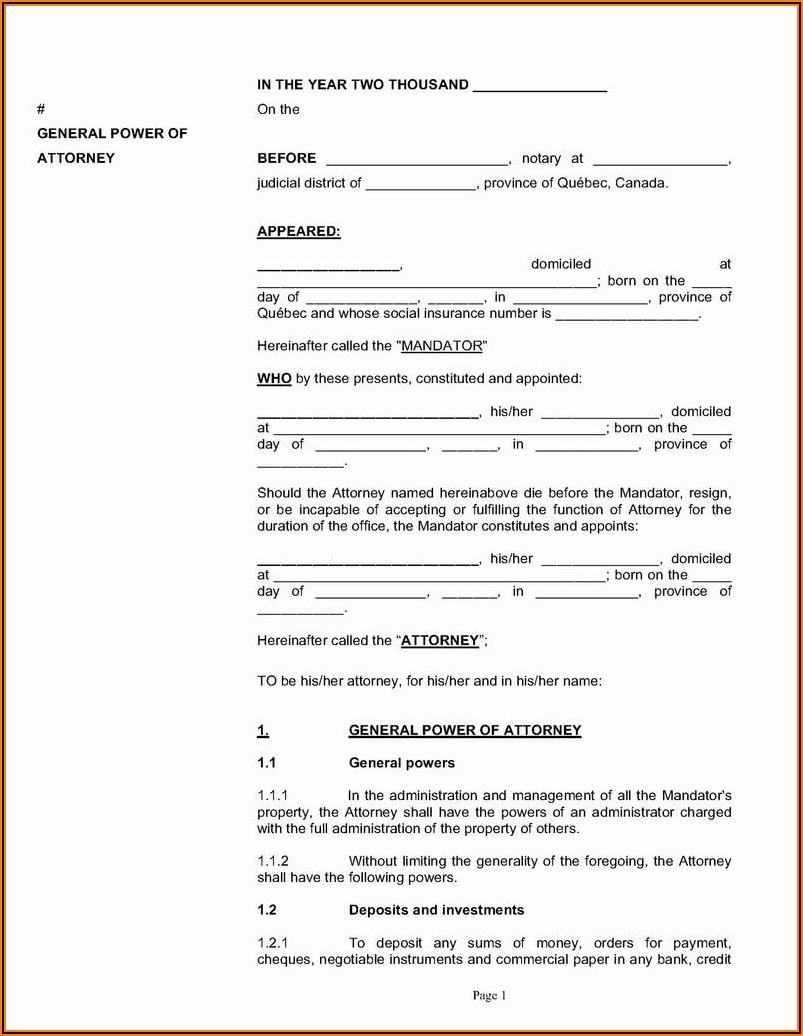 Temporary Guardianship Form Pdf Free