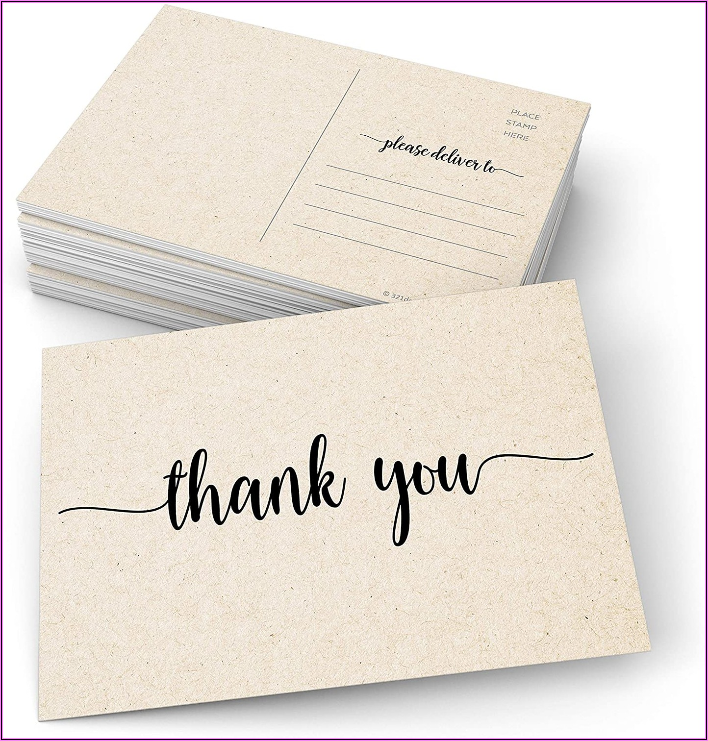 Thank You Cards Without Envelopes