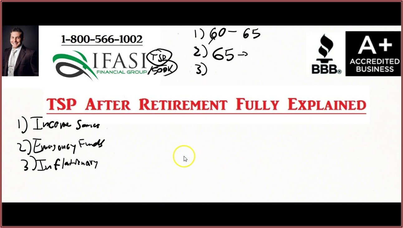 Tsp Rollover To Ira After Retirement Form