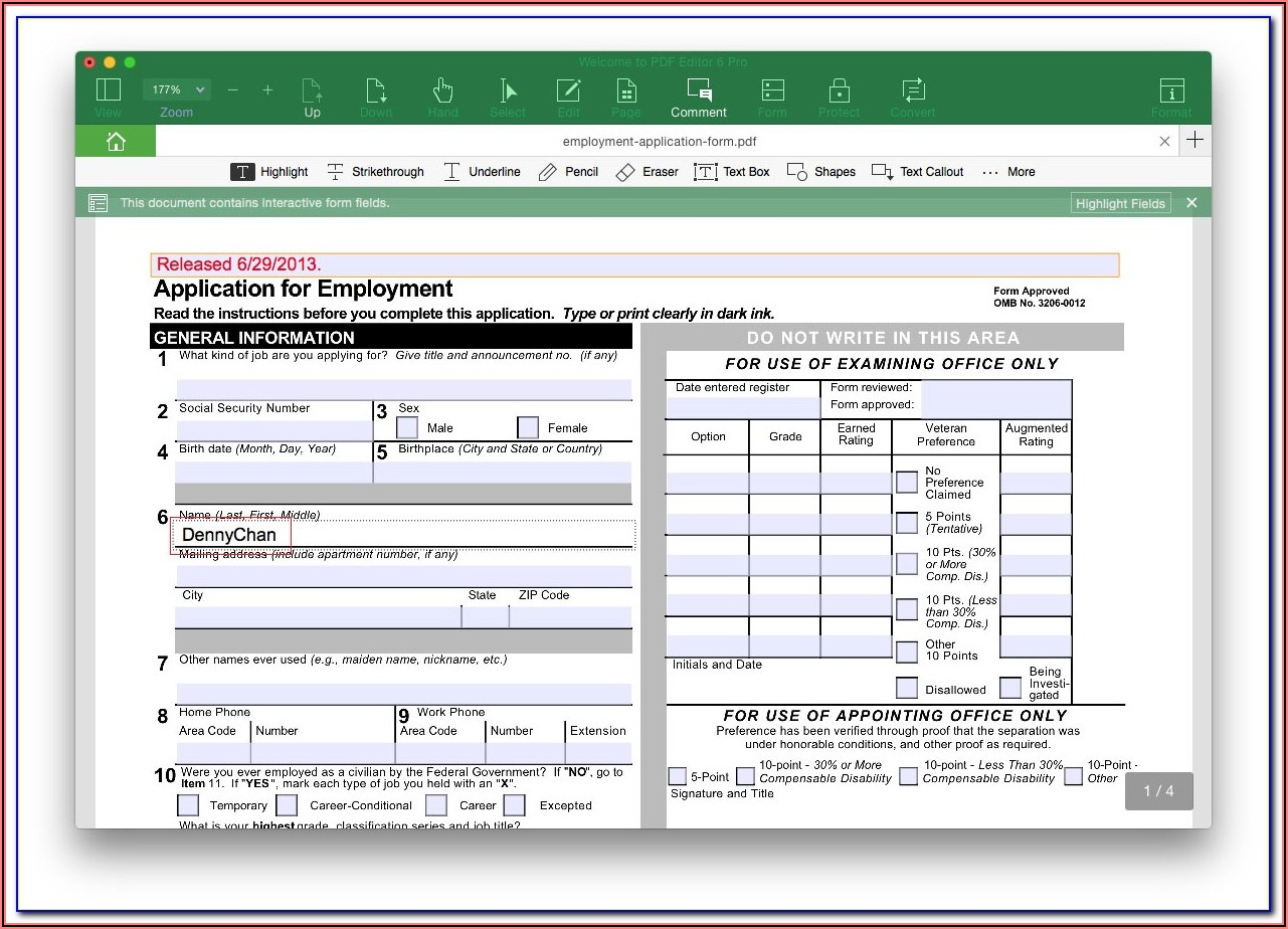 Turn Pdf Into Fillable Form Online