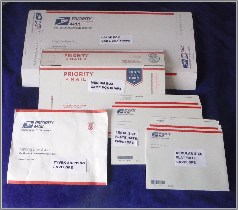Usps Flat Rate Envelopes Prices