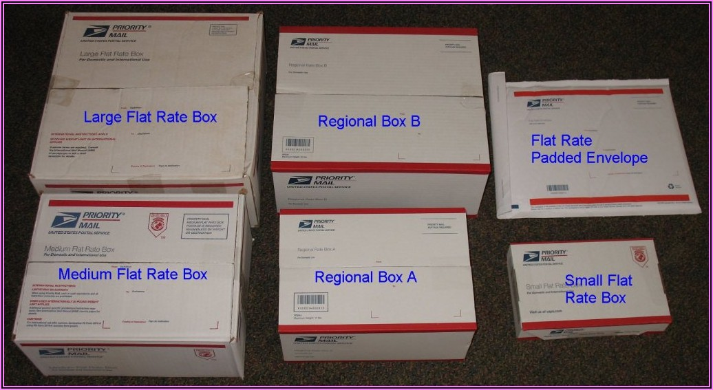 Usps Priority Mail Small Flat Rate Boxes
