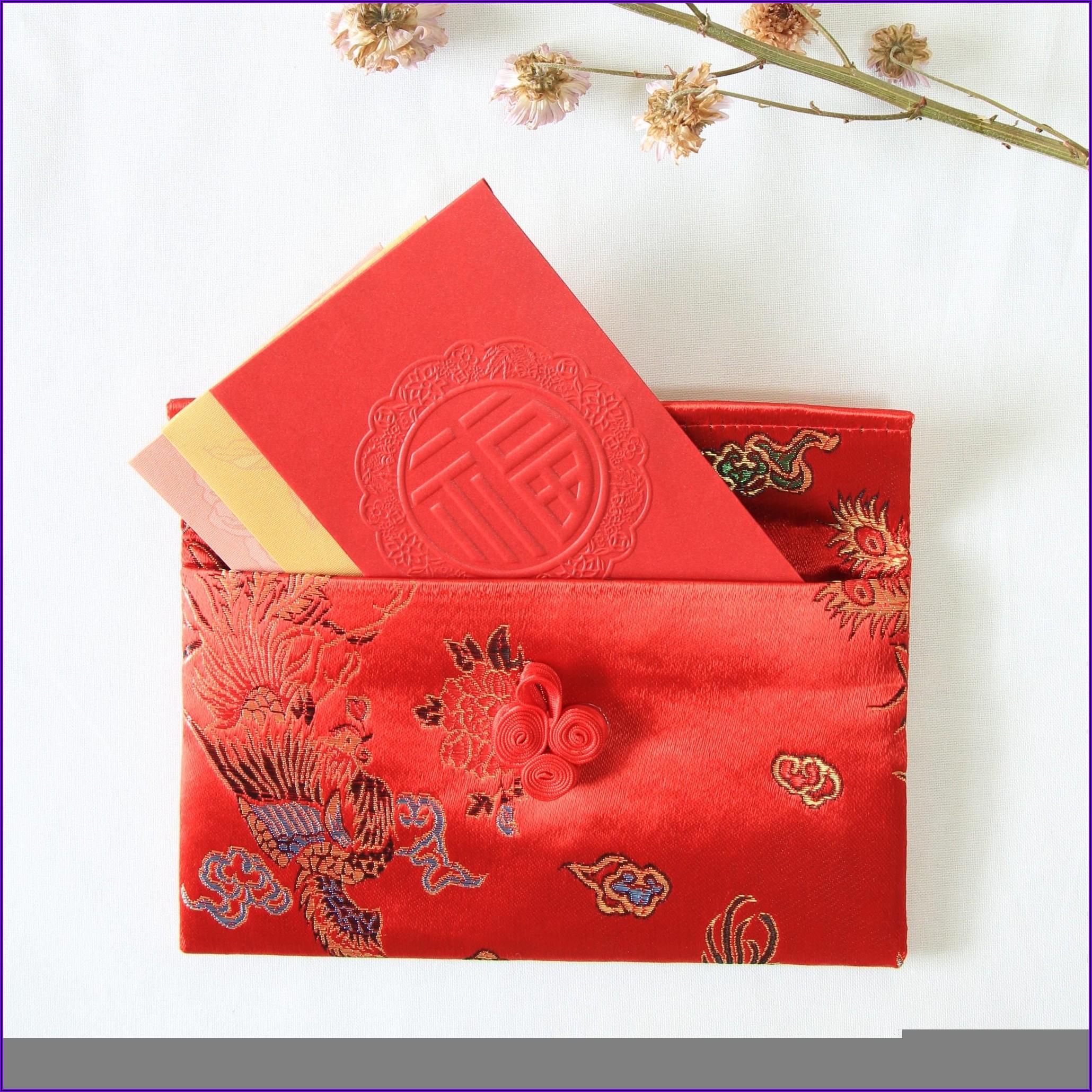 Vietnamese Wedding Gift Red Envelope