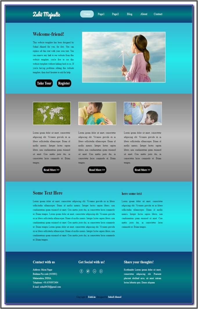 Village Website Templates Free Download Themeforest