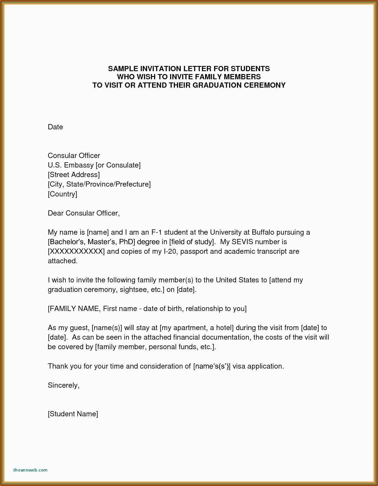 Visa Invitation Letter Uk