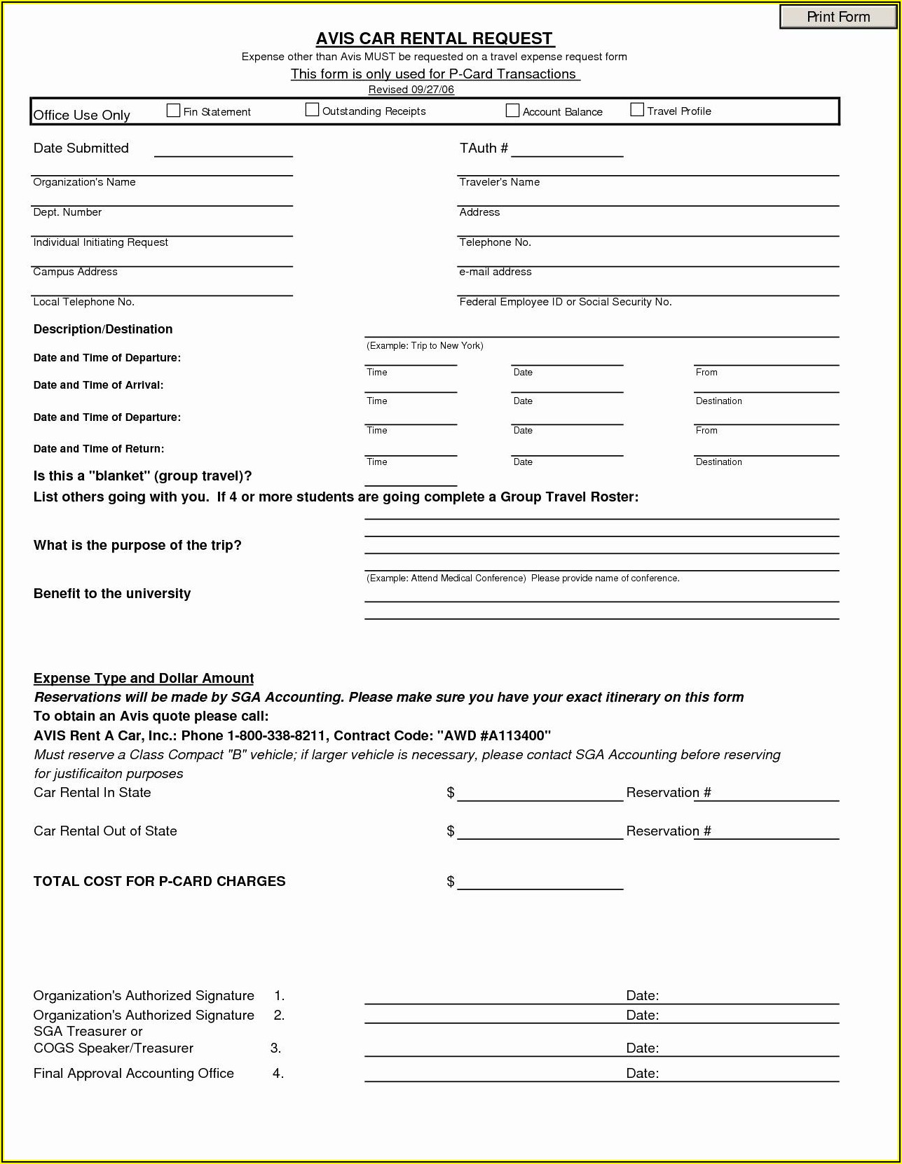 Weekly Vehicle Inspection Report Template