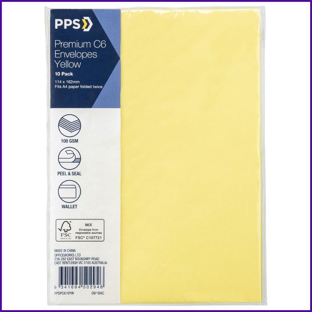 Where To Buy Yellow Envelopes