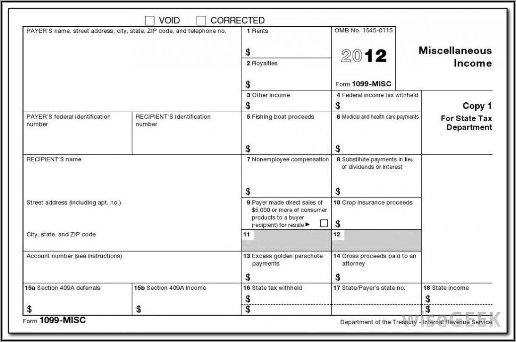 Who Must File Form 1099 Misc