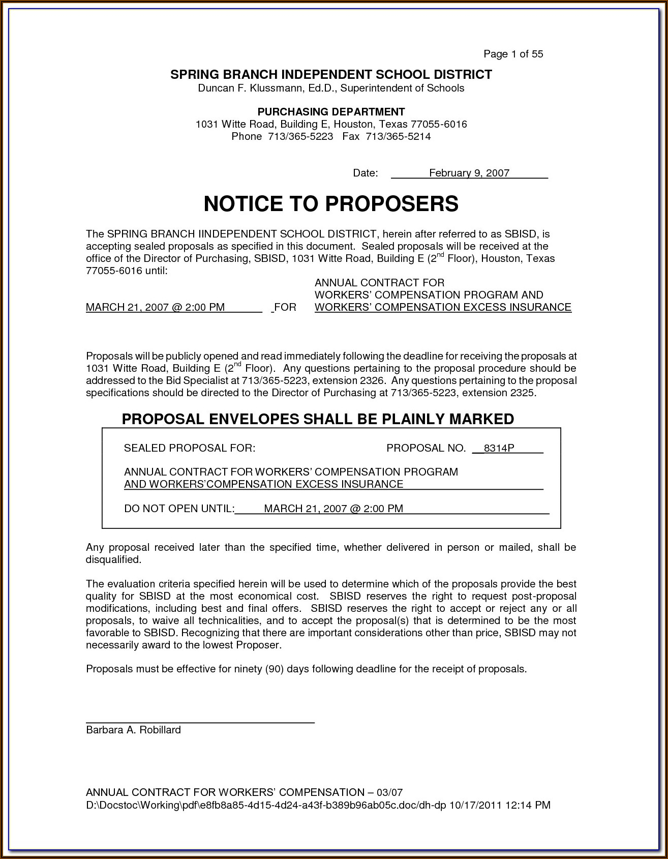 Workers' Compensation Forms For Employers