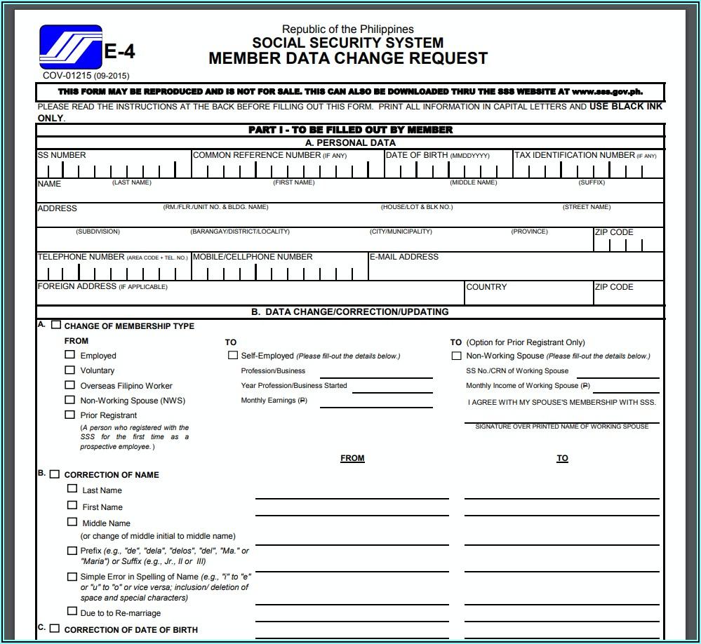 Www.sss.gov.ph Online Registration Form Download