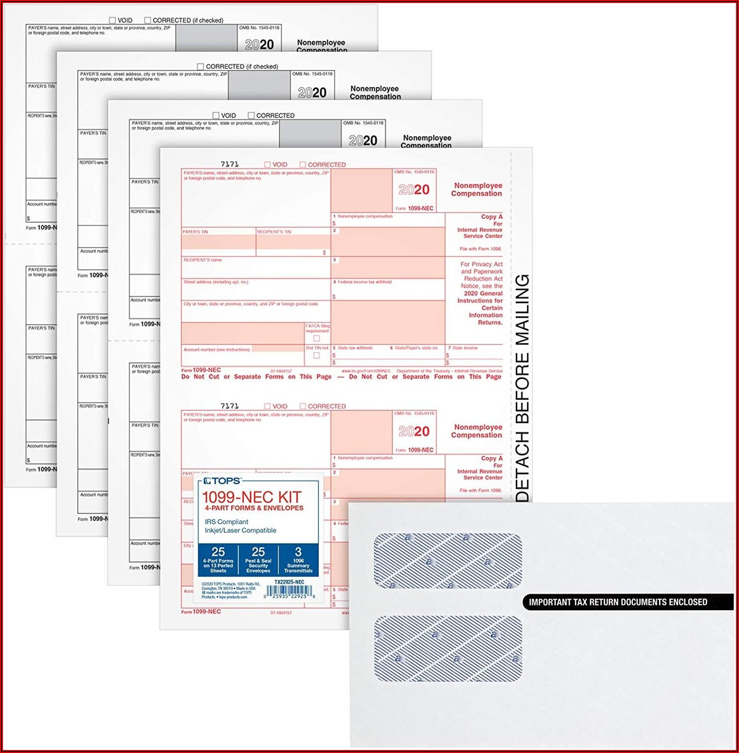 1099 Laser Forms Download