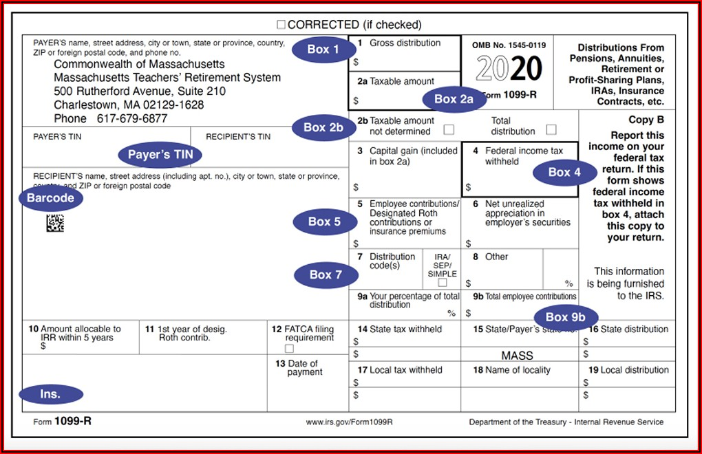 1099 R Forms Free Download