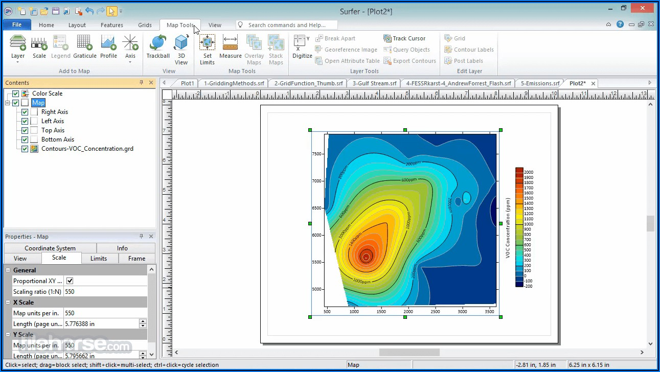 3d Contour Mapping Software Free Download