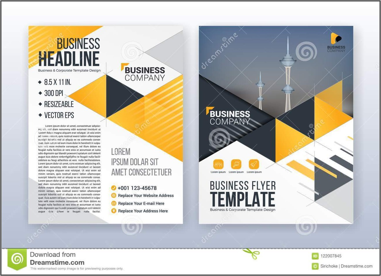 8.5 X 11 Poster Template