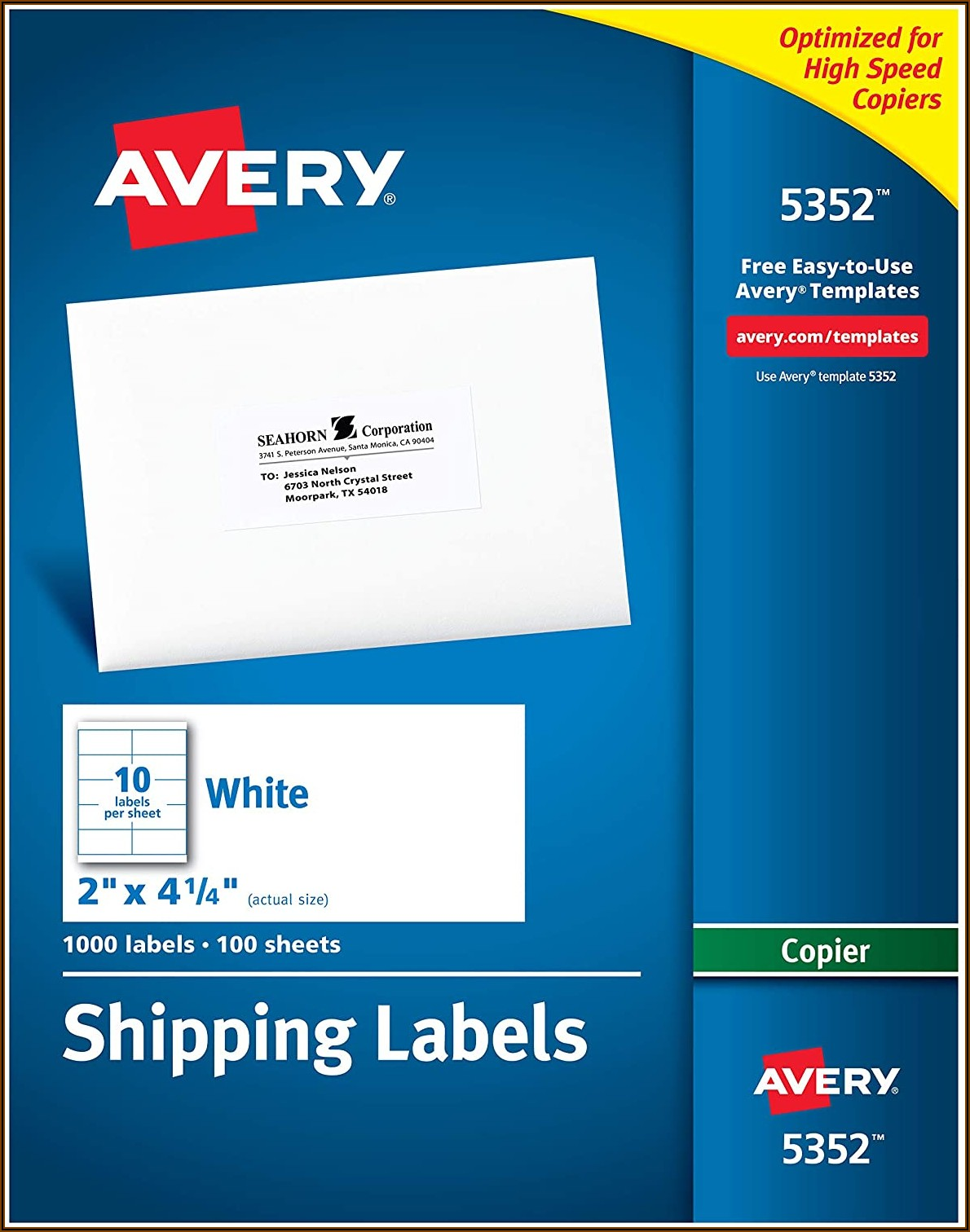 Address Labels Template 5160