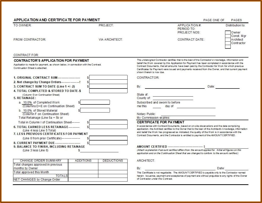 Aia G702 Form Excel Free