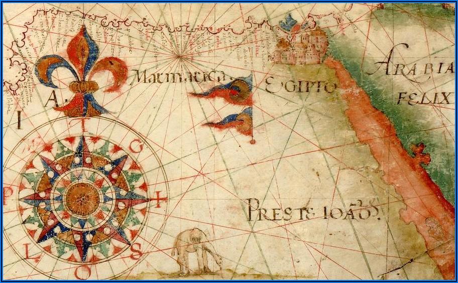Antique Nautical Maps