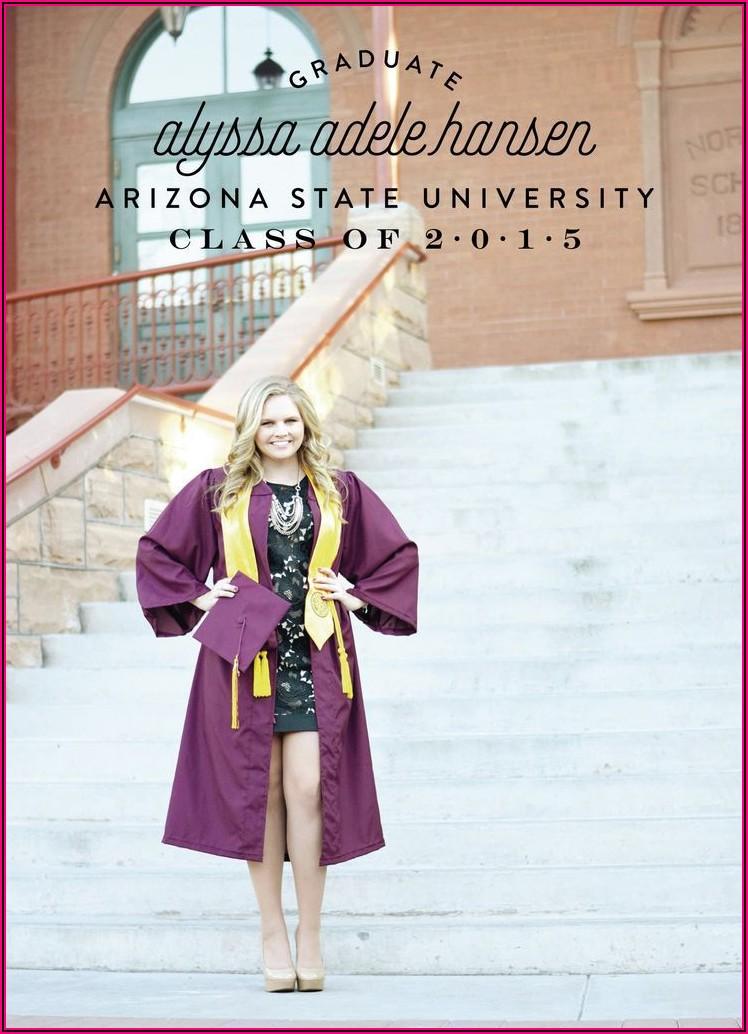 Arizona State University Graduation Announcements
