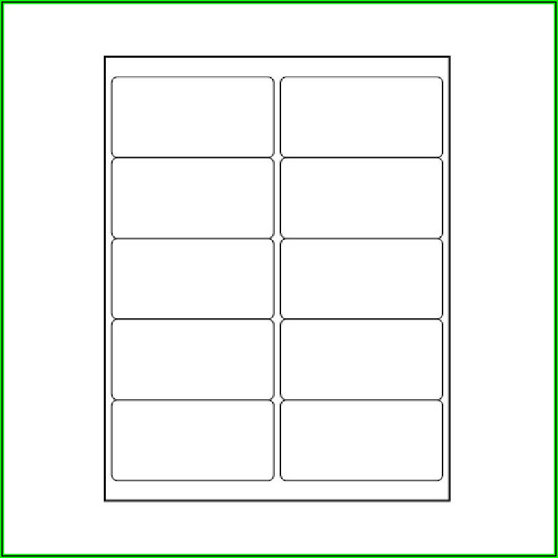 Avery Labels Templates 5163