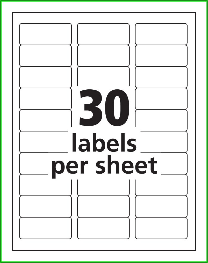 Avery Labels Templates For Word