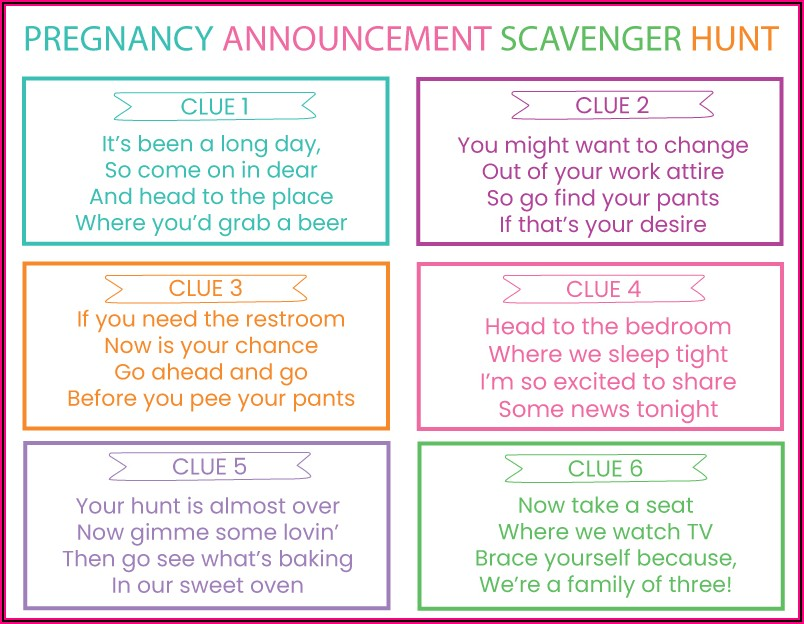Baby Announcement Riddles For Grandparents