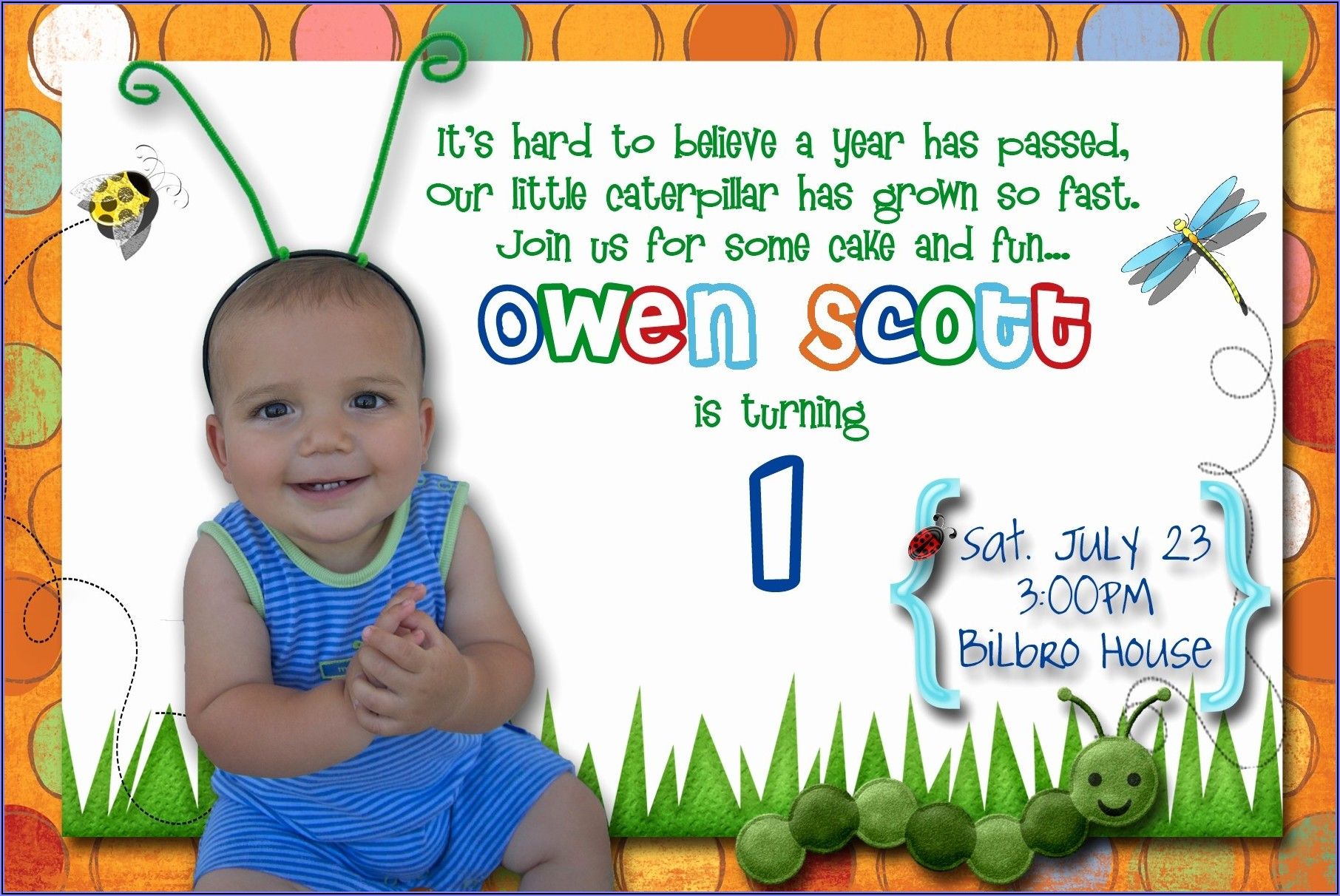 Baby First Birthday Invitation Quotes
