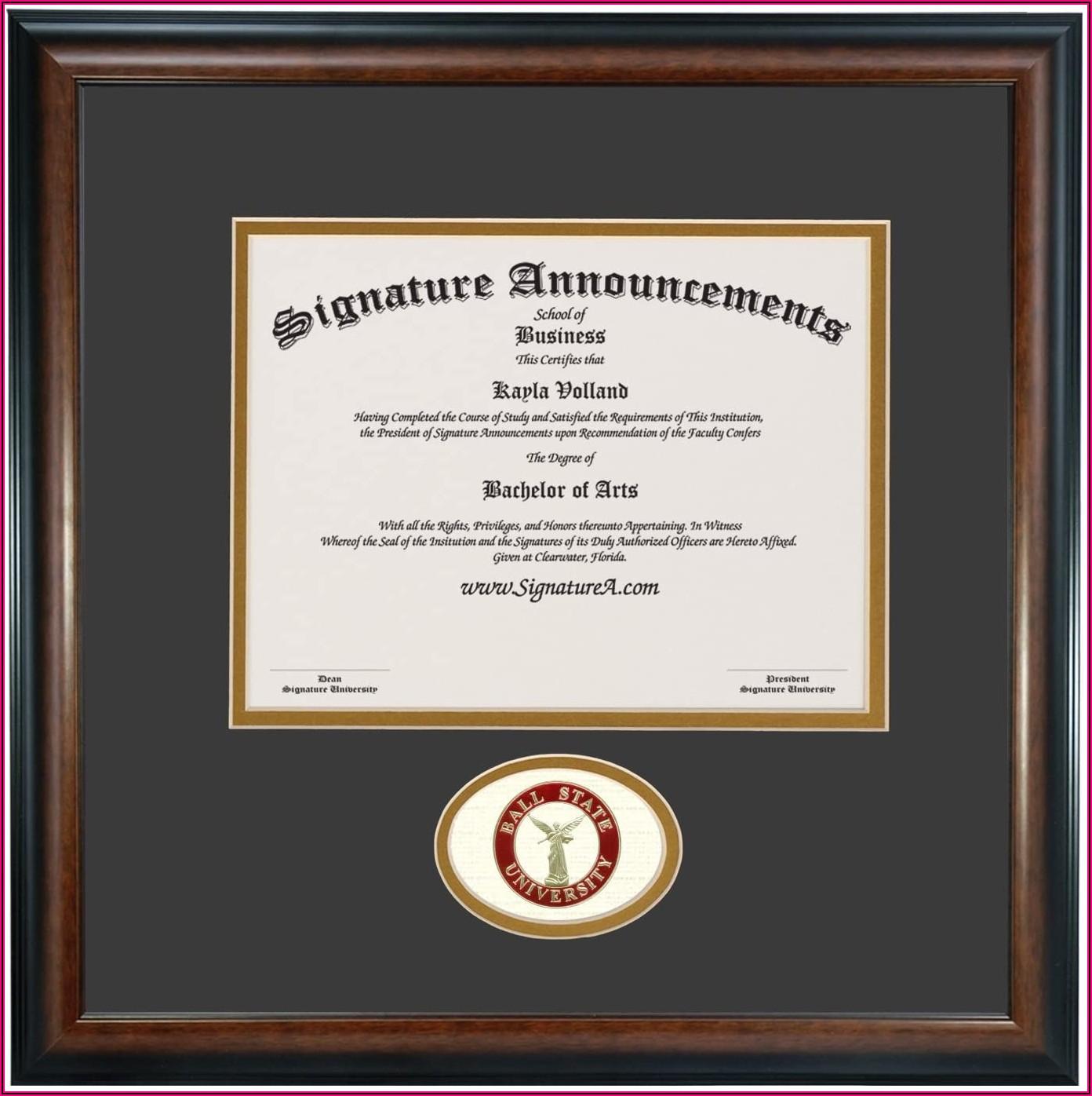 Ball State University Graduation Announcements