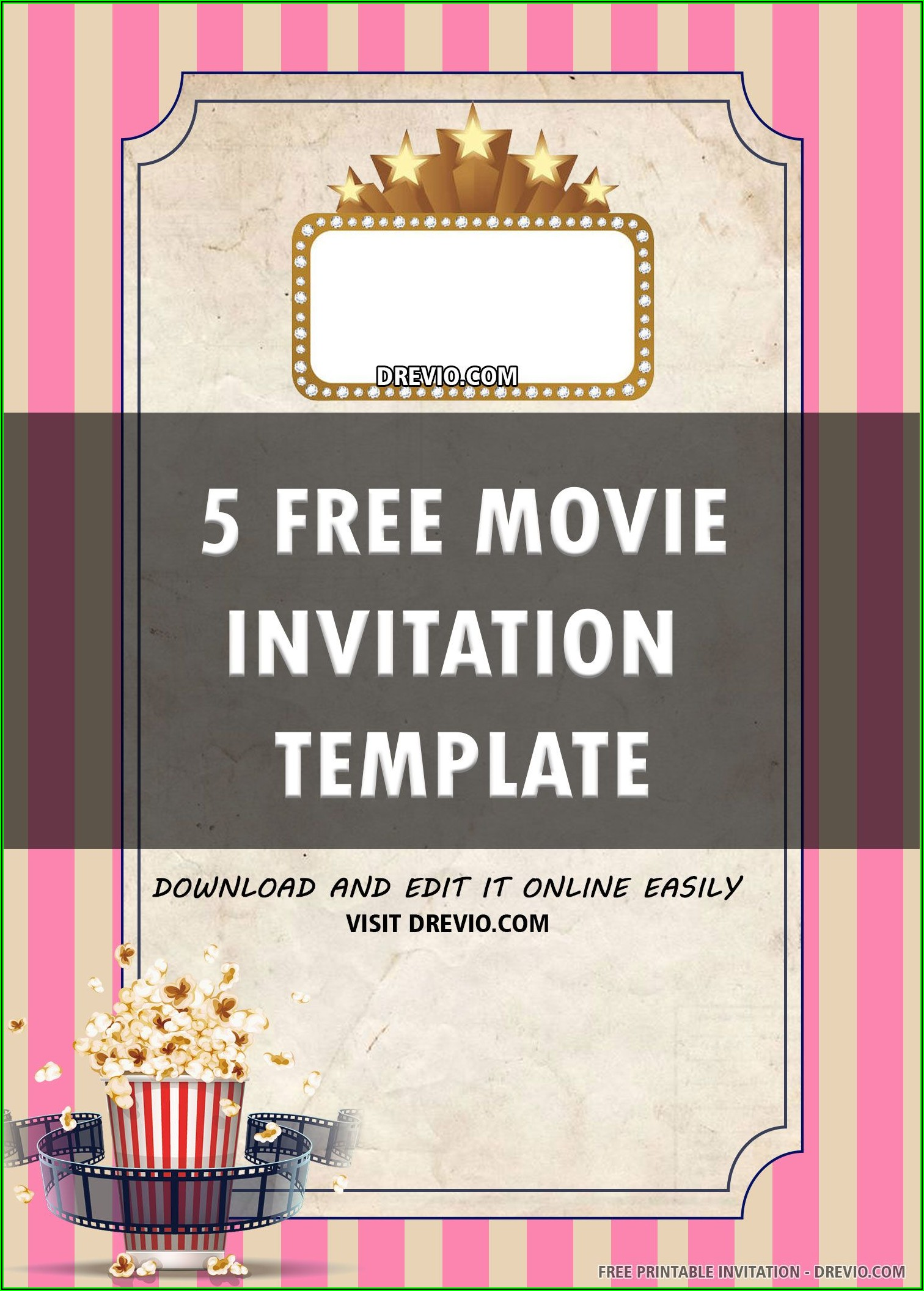 Bingo Invitation Template Free