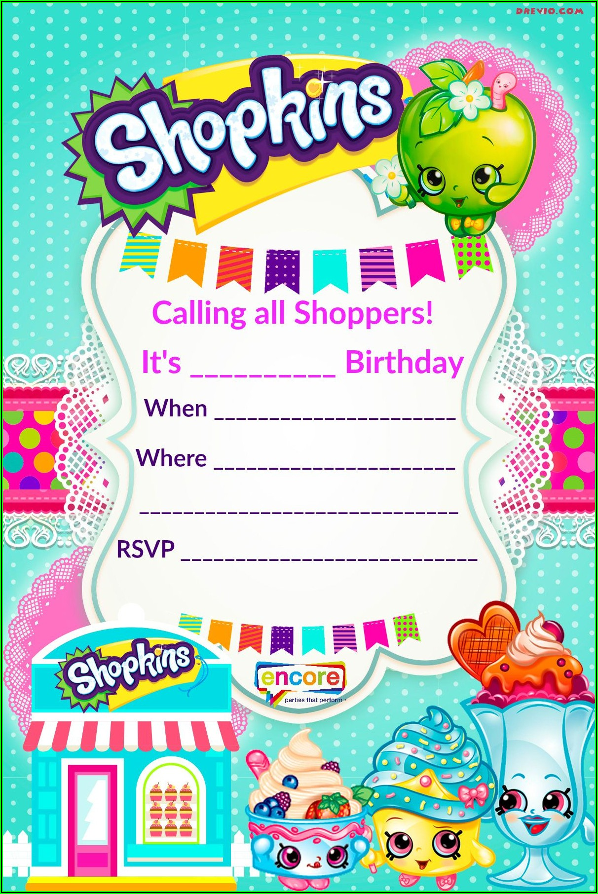Bingo Party Invitation Template Free