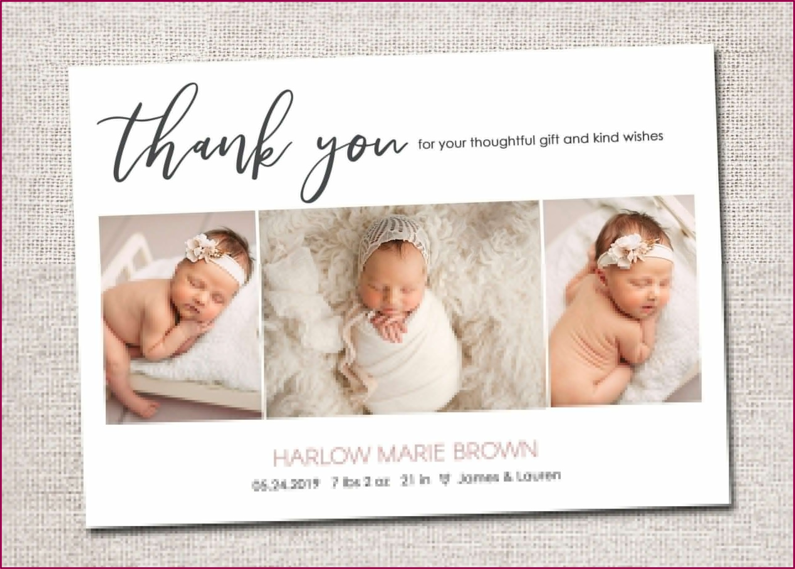 Birth Announcement Cards Discount